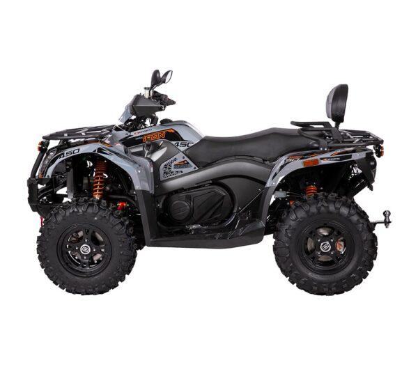 Produktbild Goes Iron max svart fyrhjuling