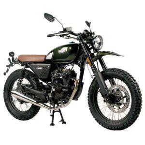 produktbild moped scrambler grön