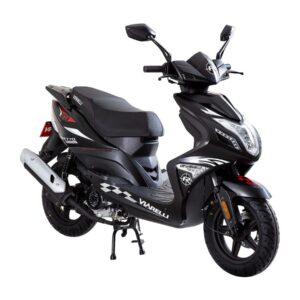produktbild Viarelli rivetto svart moped