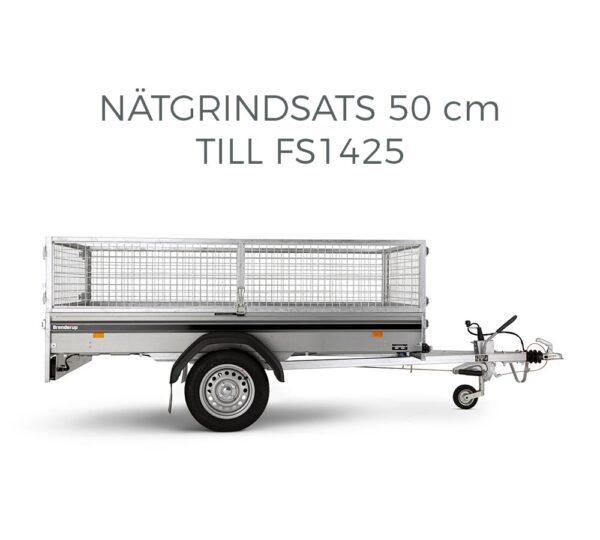 Produktbild nätgrindsats till Brenderup släpvagn