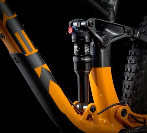 TREK Fuel EX detaljbild dämpning bak